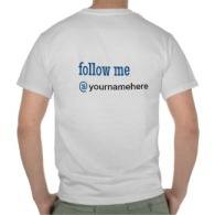 I #BlogEveryday T-Shirt BACK